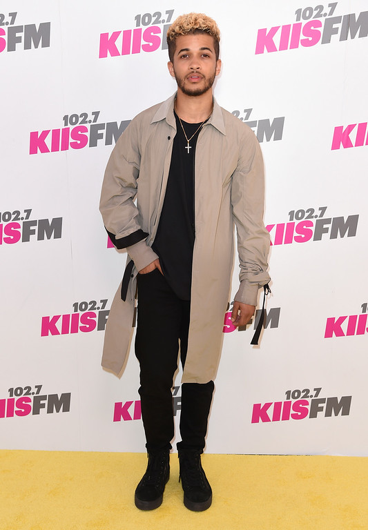 . Jordan Fisher arrives at Wango Tango at StubHub Center on Saturday, May 13, 2017, in Carson, Calif. (Photo by Richard Shotwell/Invision/AP)