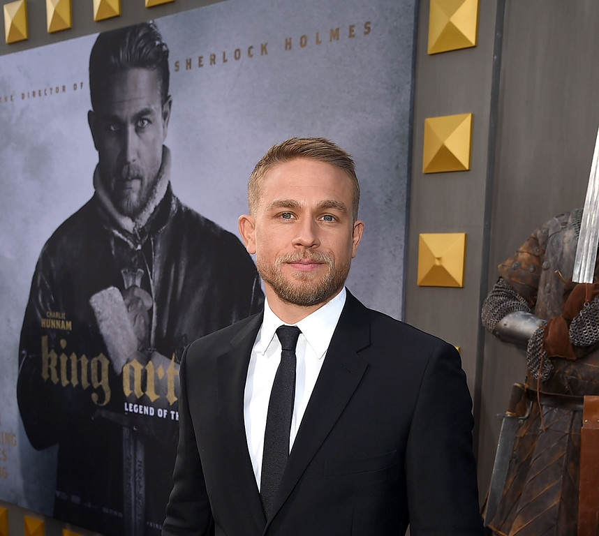 ". HOLLYWOOD, CA - MAY 08:  Actor Charlie Hunnam attends the premiere of Warner Bros. Pictures\' ""King Arthur: Legend Of The Sword\"" at TCL Chinese Theatre on May 8, 2017 in Hollywood, California.  (Photo by Kevin Winter/Getty Images)"