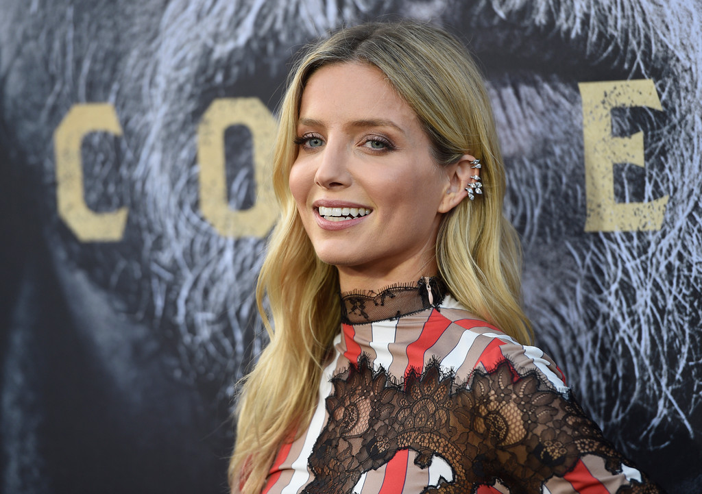 ". Annabelle Wallis arrives at the world premiere of ""King Arthur: Legend of the Sword\"" at the TCL Chinese Theatre on Monday, May 8, 2017, in Los Angeles. (Photo by Chris Pizzello/Invision/AP)"