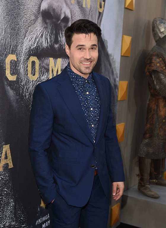 ". HOLLYWOOD, CA - MAY 08:  Actor Brett Dalton attends the premiere of Warner Bros. Pictures\' ""King Arthur: Legend Of The Sword\"" at TCL Chinese Theatre on May 8, 2017 in Hollywood, California.  (Photo by Kevin Winter/Getty Images)"