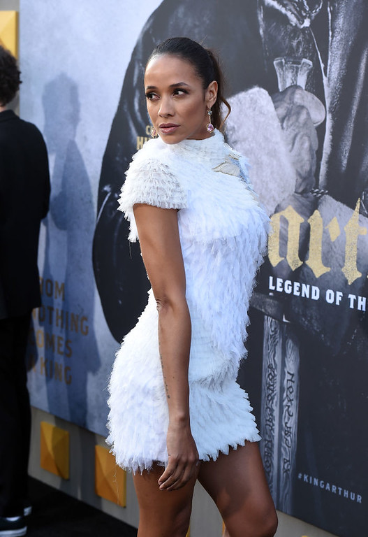 ". HOLLYWOOD, CA - MAY 08:  Dania Ramirez attends the premiere of Warner Bros. Pictures\' ""King Arthur: Legend Of The Sword\"" at TCL Chinese Theatre on May 8, 2017 in Hollywood, California.  (Photo by Kevin Winter/Getty Images)"
