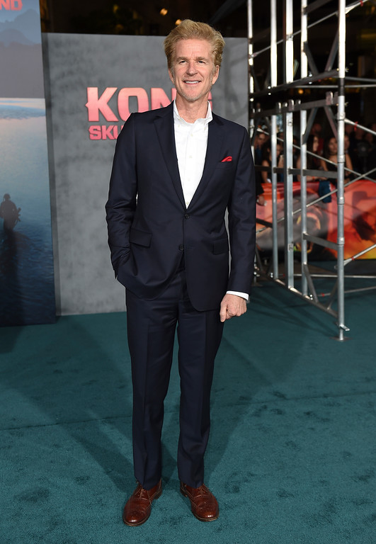 ". Matthew Modine arrives at the Los Angeles premiere of ""Kong: Skull Island\"" at the Dolby Theatre on Wednesday, March 8, 2017. (Photo by Jordan Strauss/Invision/AP)"