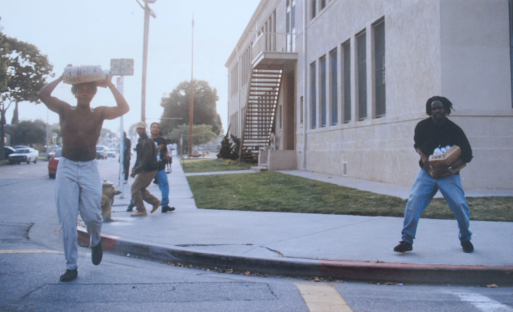 . The 1992 Los Angeles Riots.  (Daily Breeze file photo)