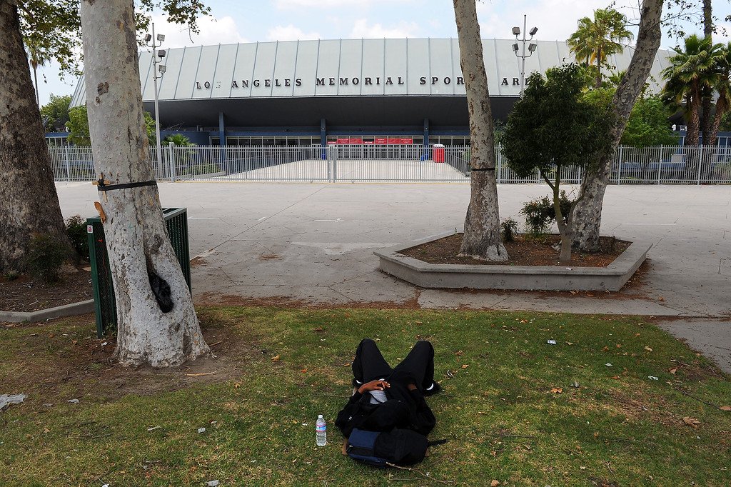 . Los Angeles Sports Arena, Monday, May 18, 2015. (Photo by Michael Owen Baker/Los Angeles Daily News)