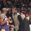Magic Johnson and Sedale Threatt