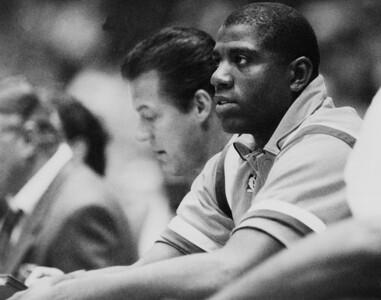 Magic Johnson Lakers 1991