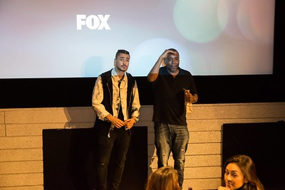 STAR: L-R: Quincy Brown and Co-Creator and Executive Producer Lee Daniels attend a screening and reception for STAR at Neuehouse Hollywood on Wednesday, Nov. 16, 2016 in Los Angeles, California. CR: Willy Sanjuan/Fox