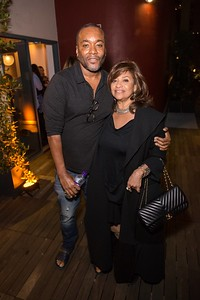 STAR: L-R: Co-Creator and Executive Producer Lee Daniels  and Debbie Allen attend a screening and reception for STAR at Neuehouse Hollywood on Wednesday, Nov. 16, 2016 in Los Angeles, California. CR: Willy Sanjuan/Fox