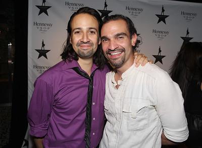 Hennessy V.S.O.P Celebrates Hamilton's 1st Week of Performances on Broadway