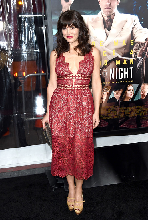 ". HOLLYWOOD, CA - JANUARY 09:  Actress Moniqua Plante attends the premiere of Warner Bros. Pictures\' ""Live By Night\"" at TCL Chinese Theatre on January 9, 2017 in Hollywood, California.  (Photo by Frazer Harrison/Getty Images)"