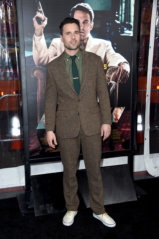 ". HOLLYWOOD, CA - JANUARY 09:  Actor Brett Dalton attends the premiere of Warner Bros. Pictures\' ""Live By Night\"" at TCL Chinese Theatre on January 9, 2017 in Hollywood, California.  (Photo by Frazer Harrison/Getty Images)"