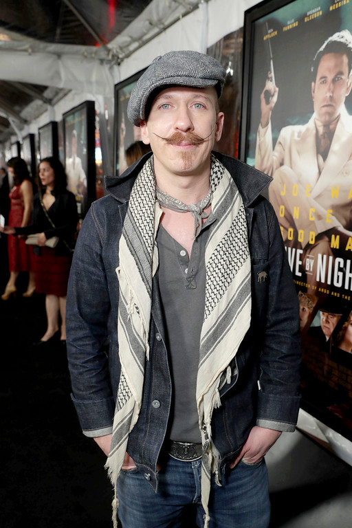 ". Foy Vance seen at the World Premiere of Warner Bros. ""Live by Night\"" at TCL Chinese Theater on Monday, Jan. 9, 2017, in Los Angeles. (Photo by Eric Charbonneau/Invision for Warner Bros./AP Images)"