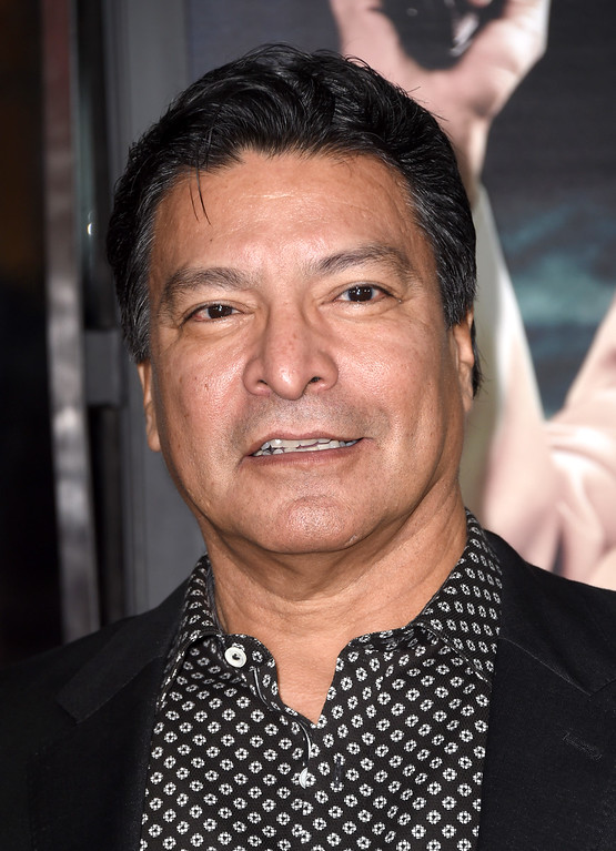 ". HOLLYWOOD, CA - JANUARY 09:  Actor Gil Birmingham attends the premiere of Warner Bros. Pictures\' ""Live By Night\"" at TCL Chinese Theatre on January 9, 2017 in Hollywood, California.  (Photo by Frazer Harrison/Getty Images)"
