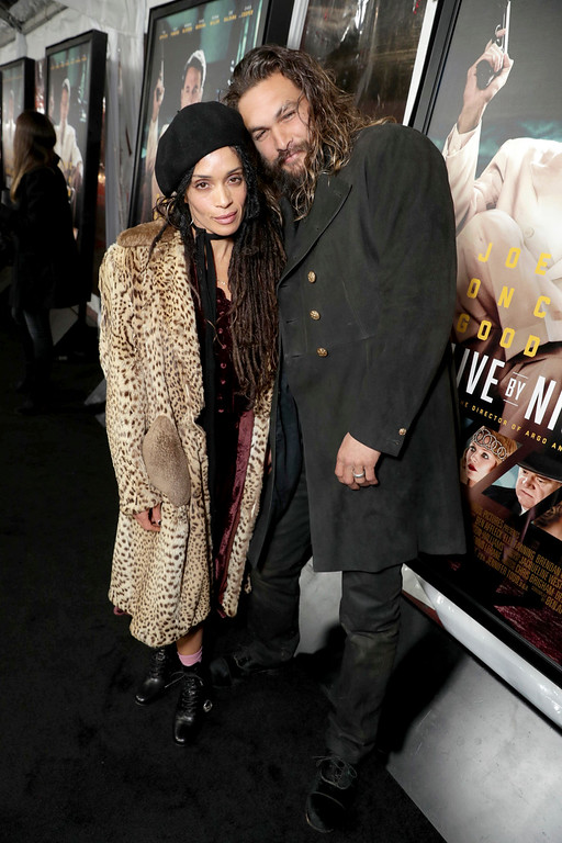 ". Lisa Bonet and Jason Momoa seen at the World Premiere of Warner Bros. ""Live by Night\"" at TCL Chinese Theater on Monday, Jan. 9, 2017, in Los Angeles. (Photo by Eric Charbonneau/Invision for Warner Bros./AP Images)"