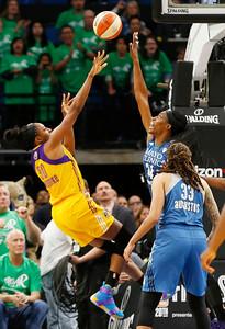 WNBA Finals Sparks Lynx Basketball