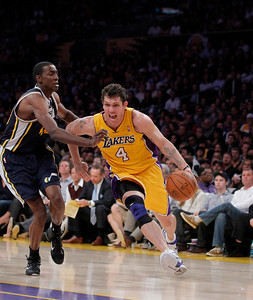 Jazz Lakers Basketball