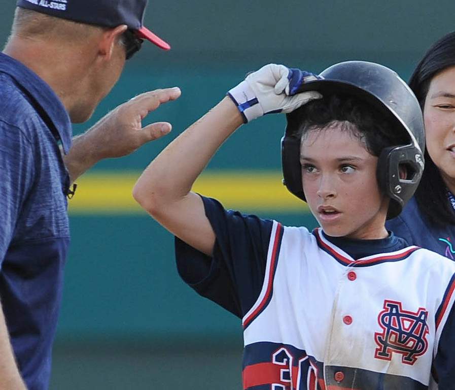 . <b>Danny Lawler</b> <br> Age: 12<br> Height, weight: 4-foot-11, 85 pounds<br> Position: Outfield/Pitcher<br> School: Arroyo Vista K-8<br> Favorite food: Steak<br> Favorite sports team: Chicago Cubs<br> Favorite player: Kris Bryant<br> (Photo by Bill Alkofer, Orange County Register/SCNG)