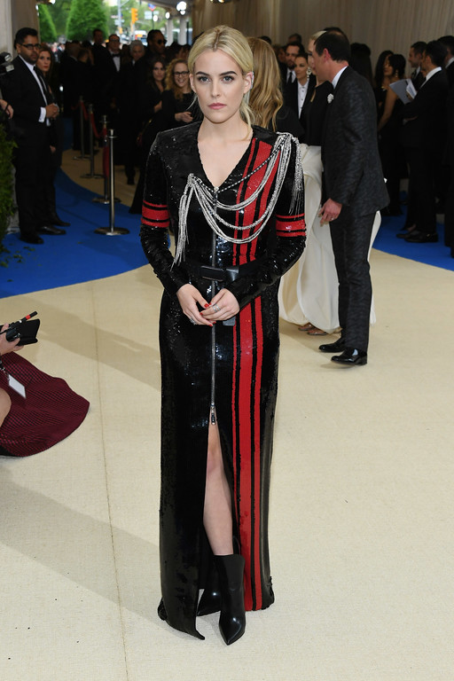 """. NEW YORK, NY - MAY 01:  Riley Keough attends the \""""Rei Kawakubo/Comme des Garcons: Art Of The In-Between\"""" Costume Institute Gala at Metropolitan Museum of Art on May 1, 2017 in New York City.  (Photo by Dia Dipasupil/Getty Images For Entertainment Weekly)"""