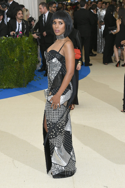 """. NEW YORK, NY - MAY 01: Kerry Washington attends the \""""Rei Kawakubo/Comme des Garcons: Art Of The In-Between\"""" Costume Institute Gala at Metropolitan Museum of Art on May 1, 2017 in New York City.  (Photo by Dia Dipasupil/Getty Images For Entertainment Weekly)"""