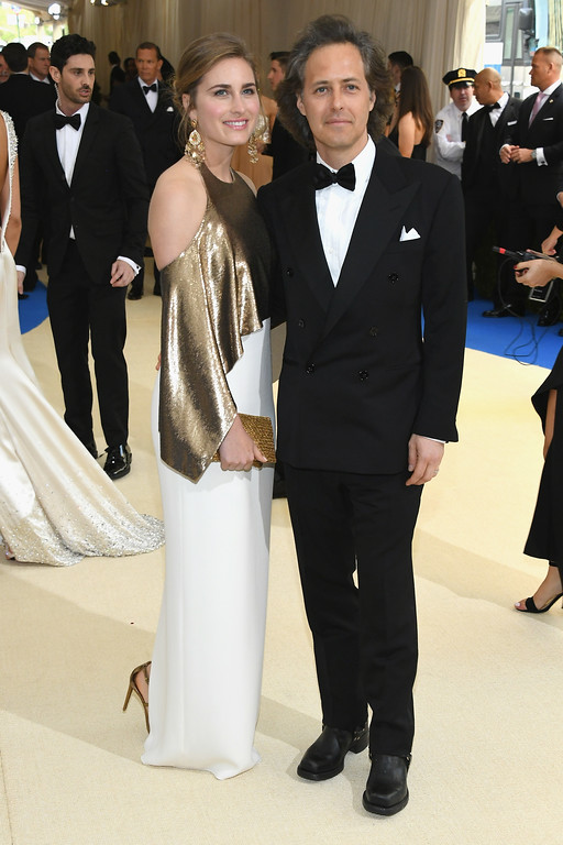 """. NEW YORK, NY - MAY 01: Lauren Bush Lauren and David Lauren attend the \""""Rei Kawakubo/Comme des Garcons: Art Of The In-Between\"""" Costume Institute Gala at Metropolitan Museum of Art on May 1, 2017 in New York City.  (Photo by Dia Dipasupil/Getty Images For Entertainment Weekly)"""