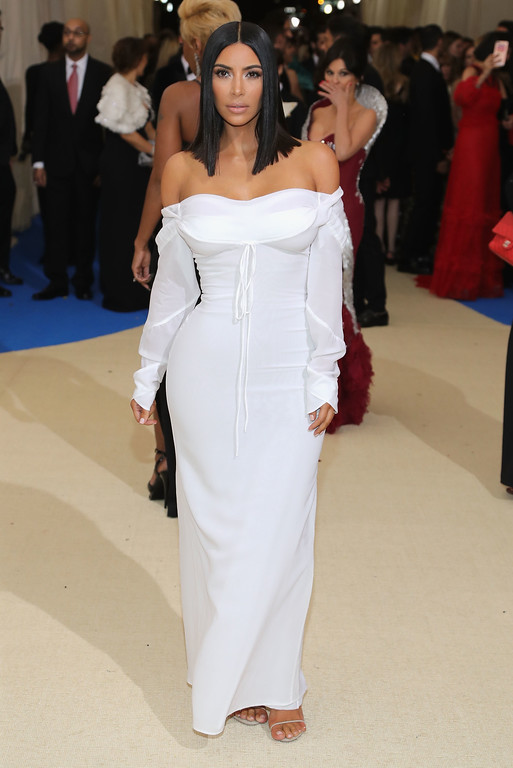 """. NEW YORK, NY - MAY 01:  Kim Kardashian West attends the \""""Rei Kawakubo/Comme des Garcons: Art Of The In-Between\"""" Costume Institute Gala at Metropolitan Museum of Art on May 1, 2017 in New York City.  (Photo by Neilson Barnard/Getty Images)"""