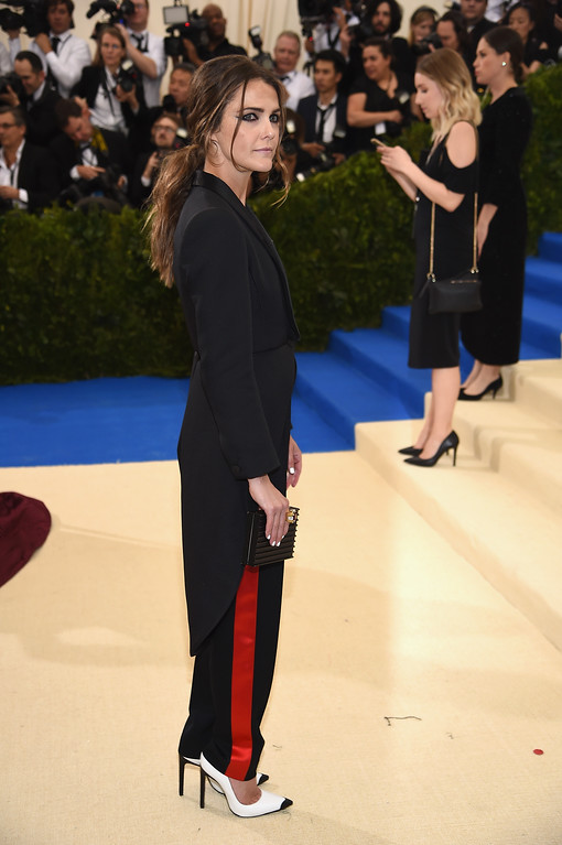 """. NEW YORK, NY - MAY 01:  Keri Russell attends the \""""Rei Kawakubo/Comme des Garcons: Art Of The In-Between\"""" Costume Institute Gala at Metropolitan Museum of Art on May 1, 2017 in New York City.  (Photo by Dimitrios Kambouris/Getty Images)"""