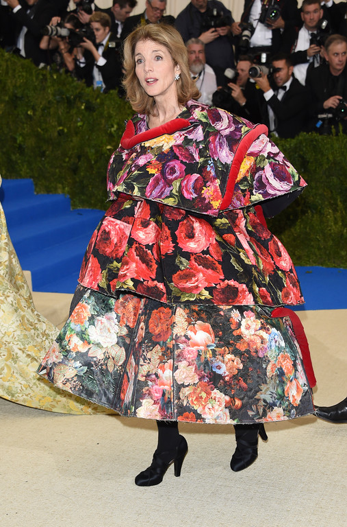 . Caroline Kennedy attends The Metropolitan Museum of Art\'s Costume Institute benefit gala celebrating the opening of the Rei Kawakubo/Comme des Garçons: Art of the In-Between exhibition on Monday, May 1, 2017, in New York. (Photo by Evan Agostini/Invision/AP)