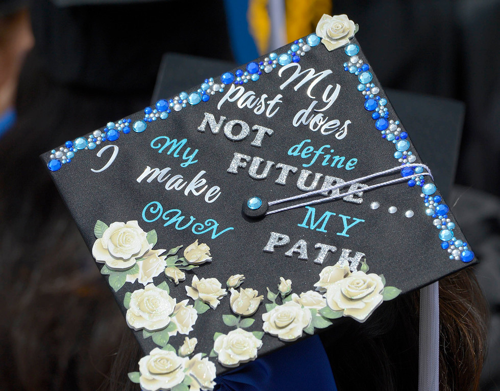 . The University of California Los Angeles held commencement exercises for the schools of Letters and Science on Friday at 2 PM in Pauley Pavilion. Westwood, CA. June 10, 2016. (Photo by John McCoy/Southern California News Group