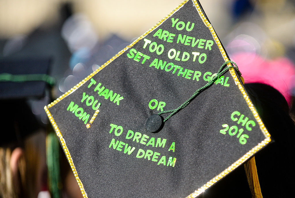 . Class of 2016 students graduate from Crafton Hills College in Yucaipa, CA on Friday, May 27, 2016. (Photo by Rachel Luna/The Sun)