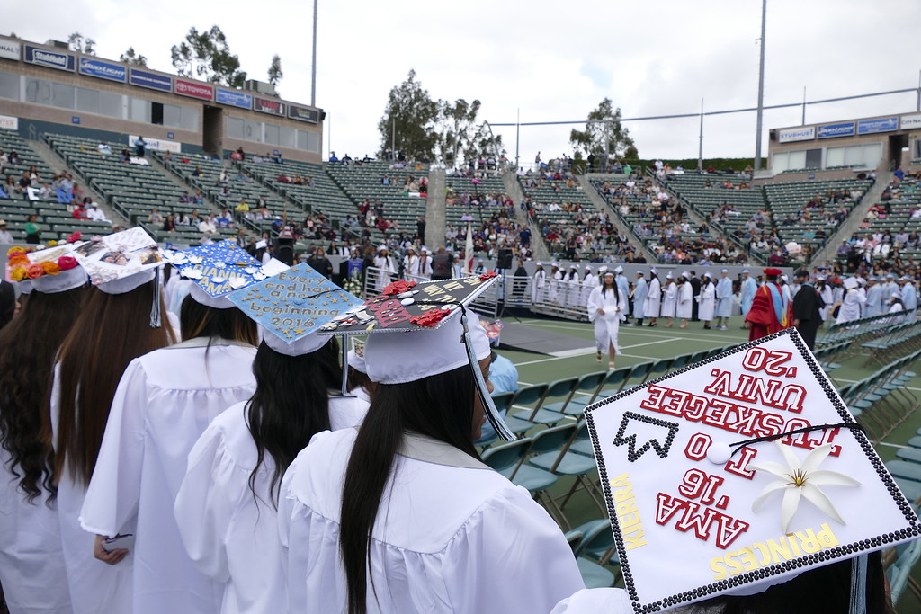 . Carson High School Class of 2016 Commencement ceremony at StubHub Center.  Photos by Brad Graverson/SCNG/The Daily Breeze 06-13-16