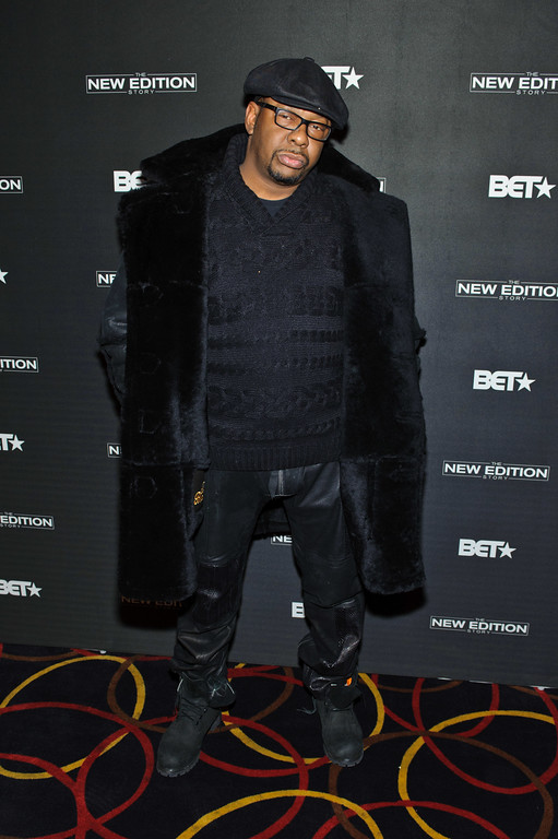 . CHICAGO, IL - JANUARY 03:  Bobby Brown attends BET\'s screening of The New Edition Story on January 3, 2017 in Chicago, Illinois.  (Photo by Timothy Hiatt/Getty Images for BET)