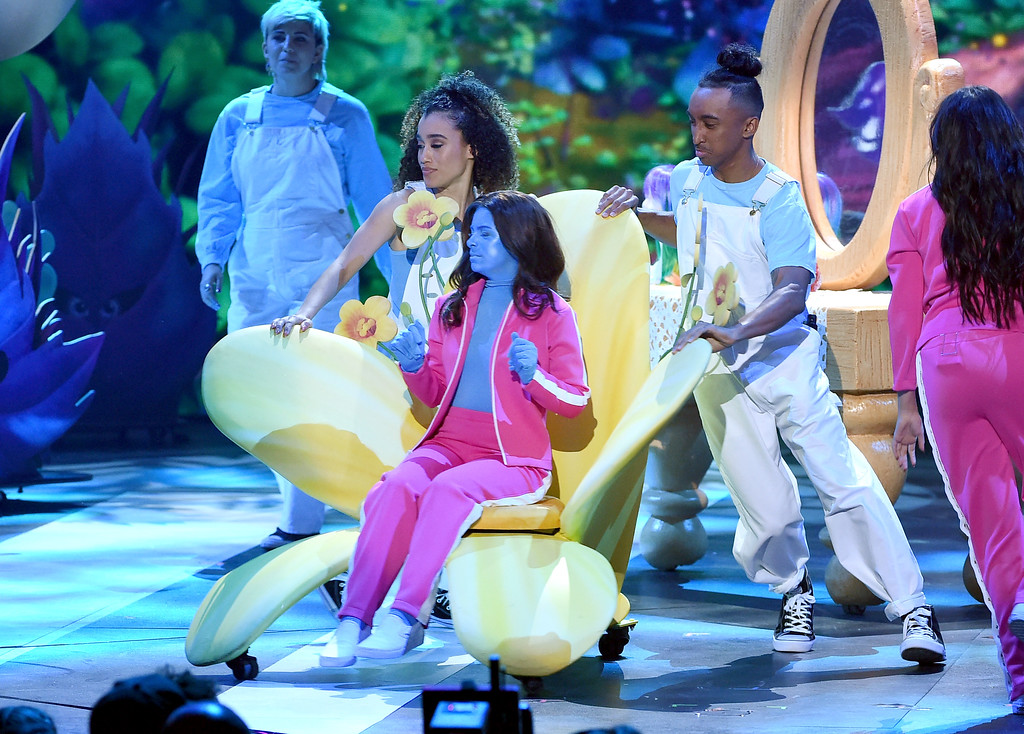 . LOS ANGELES, CA - MARCH 11:  Actor Madisyn Shipman performs onstage at Nickelodeon\'s 2017 Kids\' Choice Awards at USC Galen Center on March 11, 2017 in Los Angeles, California.  (Photo by Kevin Winter/Getty Images)