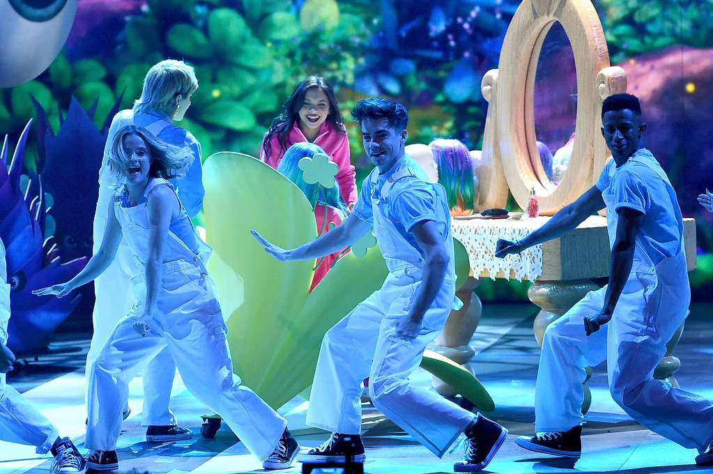 . LOS ANGELES, CA - MARCH 11:  Actor Cree Cicchino dances onstage at Nickelodeon\'s 2017 Kids\' Choice Awards at USC Galen Center on March 11, 2017 in Los Angeles, California.  (Photo by Kevin Winter/Getty Images)