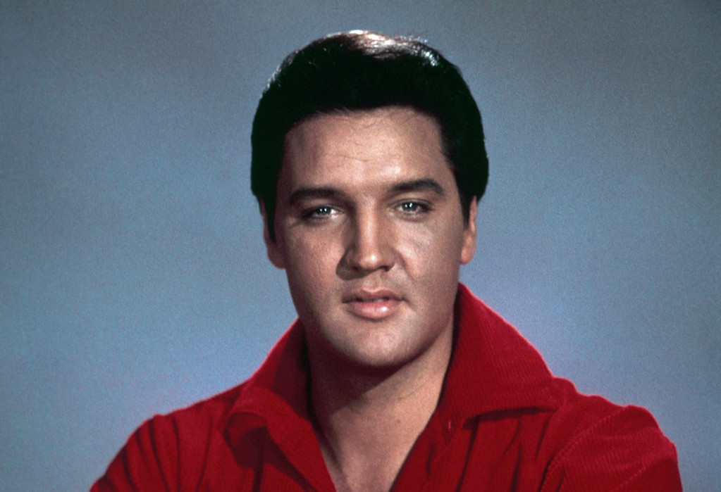 . Singer and actor Elvis Presley is shown in an undated photo. The music icon died on August 16, 1977, in Memphis, Tennessee. He was 42. (AP Photo)