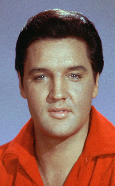 . Elvis Presley is shown  in an undated file photo.   (AP Photo)