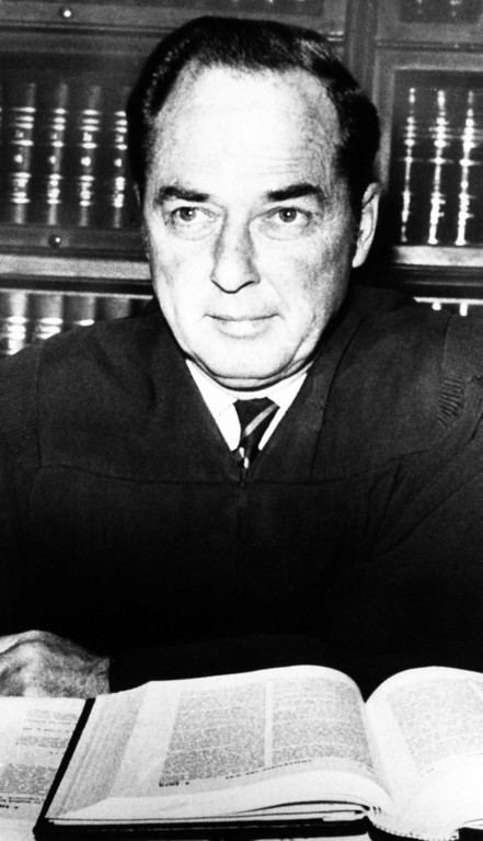 . Superior Court Judge Charles H. Older, shown June 1970, denied again a motion for mistrial by Charles Manson\'s attorney in the Sharon Tate murder case in Los Angeles, Aug.  4, 1970. The motion was based on President Nixon\'s comment on the trial and Manson. (AP Photo)