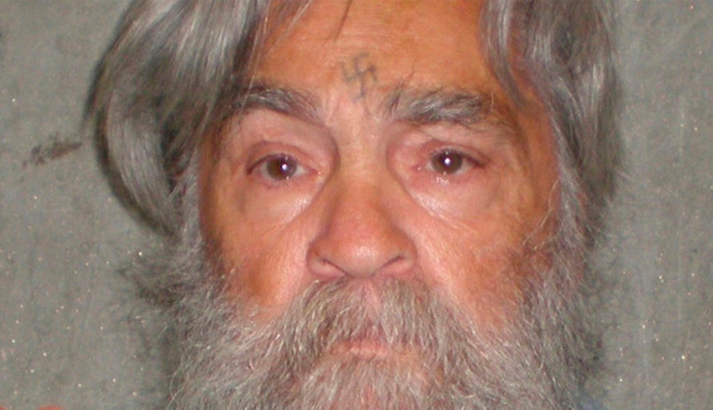 . A photo provided by the  California Department of Corrections shows 77-year-old serial killer Charles Manson Wed., April 4, 2012. Manson will have an April 11, 2011 parole hearing in California.  (AP Photos/California Department of Corrections)