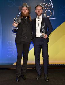 50th Annual CMA Awards - Press Room