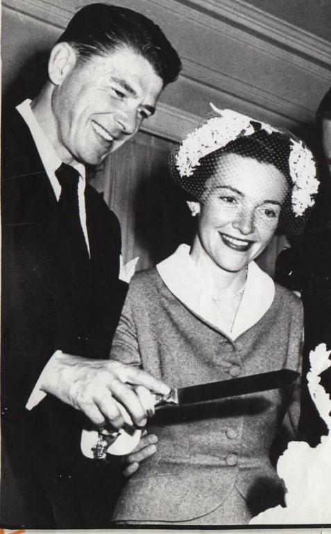 . Ronald Reagan married Nancy Davis in 1952.
