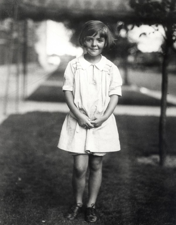 . Nancy Davis at age 6, 1927-28.   Nancy Davis Reagan, wife of the late President Ronald Reagan, died Sunday, March 6, 2016, at her home in Los Angeles. She was 94. Photo Credit: The Ronald Reagan Presidential Foundation
