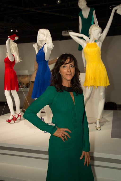 . Mary Zophres used primary colors in much of her designs in �La La Land.�� She is nominated in the best costume design category. (Courtesy of ABImages)