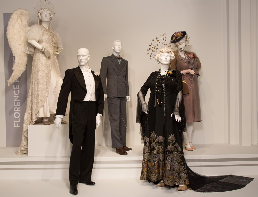 . Consolata Boyle is nominated for an Oscar for her work with �Florence Foster Jenkins.� The display shows the intricate �angel�� costume Meryl Streep wears in the film as Jenkins performs. (Courtesy of ABImages)