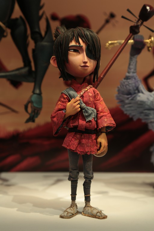 . The costumes from �Kubo and the Two Strings�� by Deborah Cook required just as much skill and work as its larger counterparts. (Courtesy of ABImages)