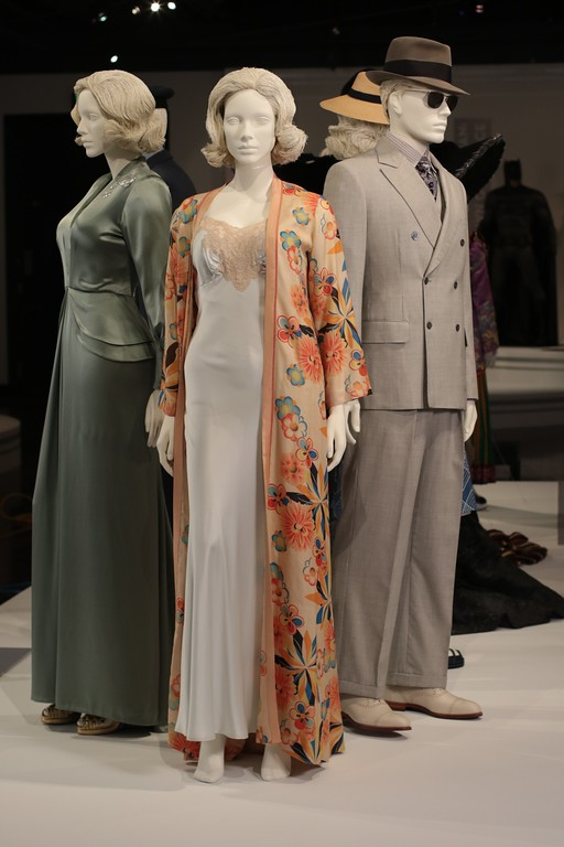 . Silky and seductress seem to go hand in hand in the Oscar-nominated work of Joanna Johnston for her designs in �Allied.�  (Courtesy of ABImages)