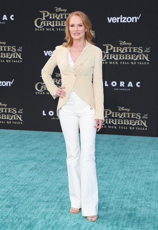 ". HOLLYWOOD, CA - MAY 18:  Actor Marg Helgenberger attends the premiere of Disney\'s ""Pirates Of The Caribbean: Dead Men Tell No Tales\"" at Dolby Theatre on May 18, 2017 in Hollywood, California.  (Photo by Frederick M. Brown/Getty Images)"