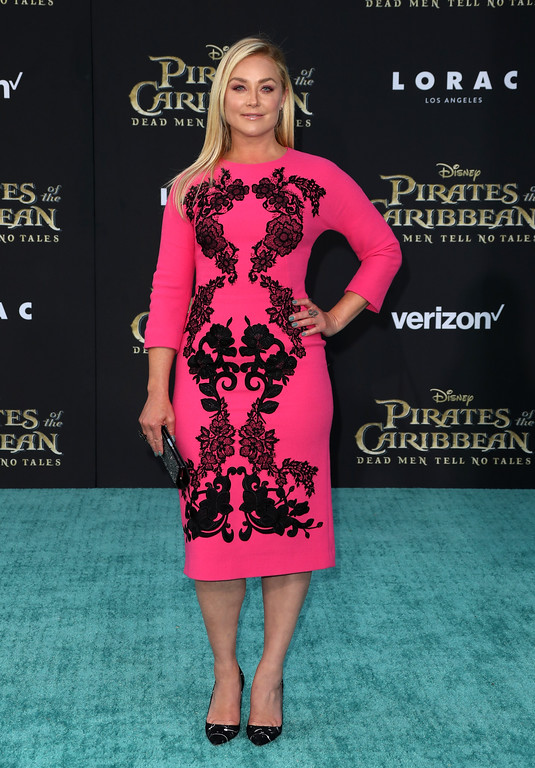 ". HOLLYWOOD, CA - MAY 18:  Actor Elisabeth Röhm attends the premiere of Disney\'s ""Pirates Of The Caribbean: Dead Men Tell No Tales\"" at Dolby Theatre on May 18, 2017 in Hollywood, California.  (Photo by Frederick M. Brown/Getty Images)"