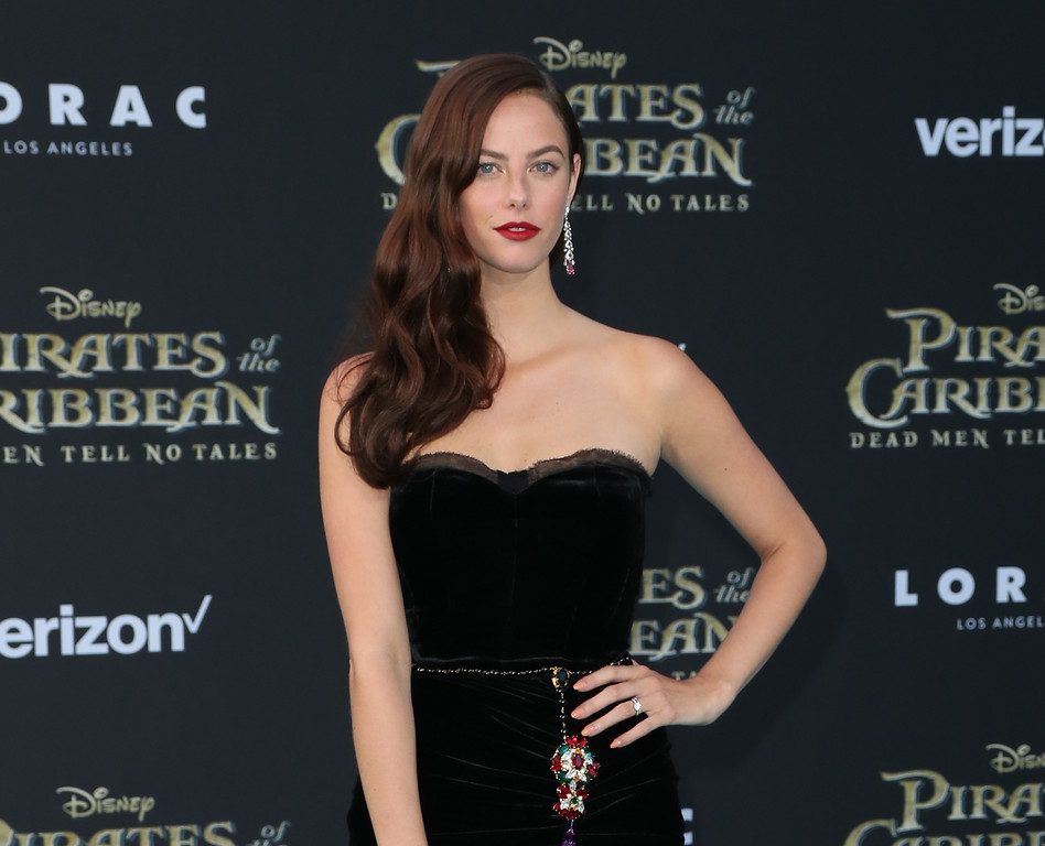 ". HOLLYWOOD, CA - MAY 18:  Actor Kaya Scodelario attends the premiere of Disney\'s ""Pirates Of The Caribbean: Dead Men Tell No Tales\"" at Dolby Theatre on May 18, 2017 in Hollywood, California.  (Photo by Frederick M. Brown/Getty Images)"