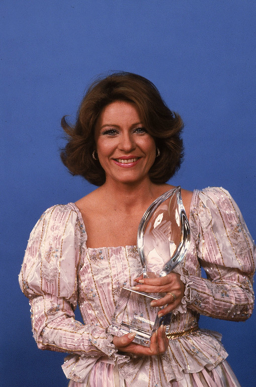. Actress Patty Duke is shown at the 9th annual People\'s Choice Awards, in Los Angeles, Calif., on March 17, 1983. (AP Photo)