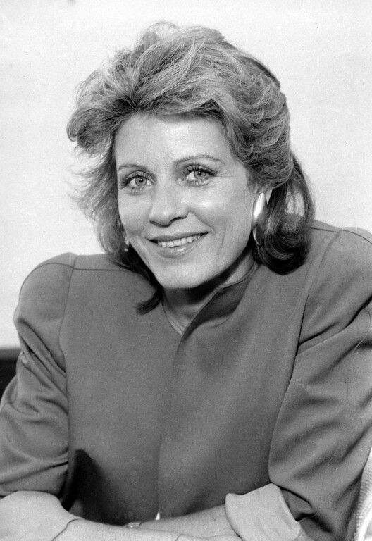 . Actress Patty Duke is portrayed in August 1987. (AP Photo/Nick Ut)