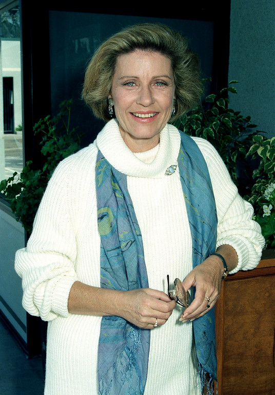 . Actress Patty Duke is shown in Los Angeles, Ca., on Oct. 3, 1990. (AP Photo/Julie Markes)